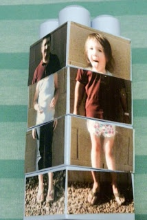 DIY- Silly family or friends Picture Puzzle Blocks