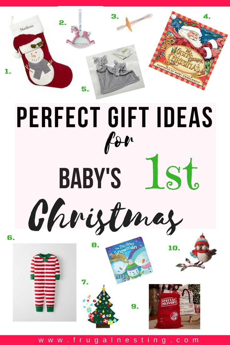 Unique Gift Ideas for Baby\'s 1st Christmas | Baby\'s First Christmas ...