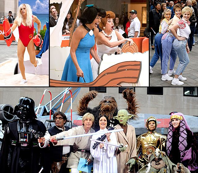 Today Show Halloween Costumes Through the Years!