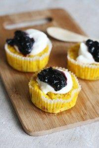 Saffranspannkaka i muffinsform