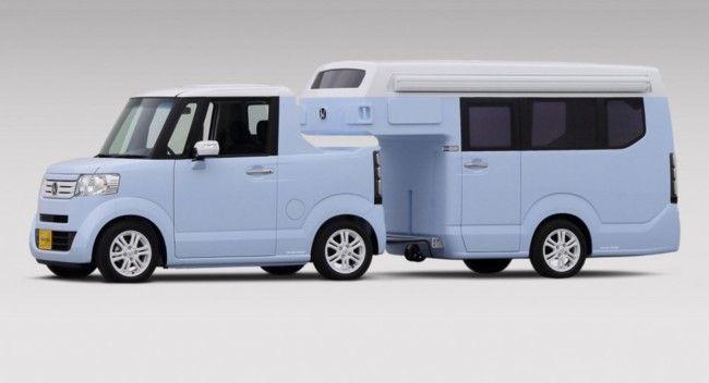No es de juguete, es una caravana tamaño Kei Car