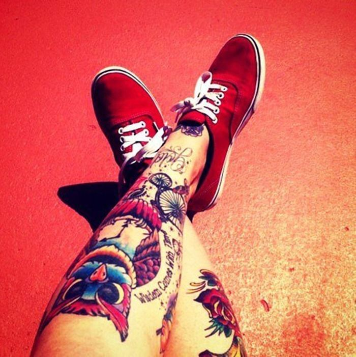 78+ images about Leg Tattoos For Men on Pinterest | Tiger ...