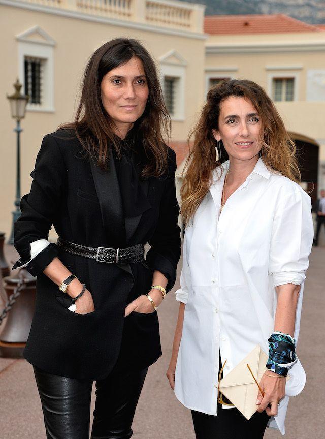 team #VogueParis kickin it in Monaco. #EmmanuelleAlt #AgnesBoulard