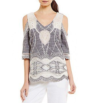 Antonio Melani Georgia Cold Shoulder Blouse
