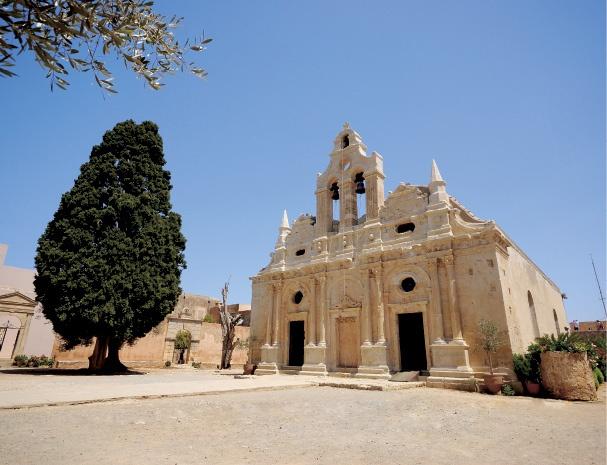 Ρεθυμνο: Μονή Αρκαδίου  Rethimnon: Arkadi Monastery    Crete