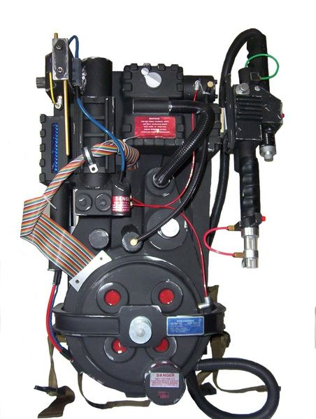 A real life version of the Ghostbusters tech. The Proton Pack is the primary ghost capturing device