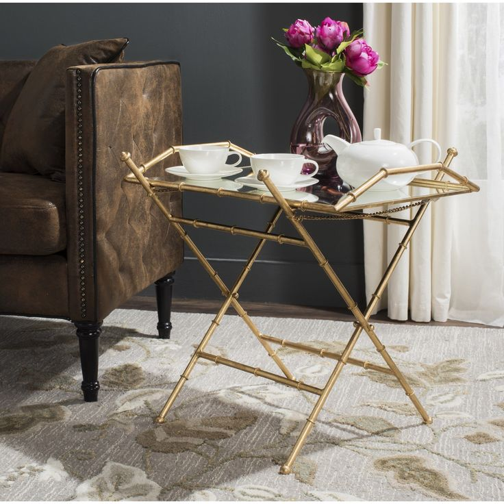 A Melange Of Inspirations Contributed To The Chic New Design Of This Faux  Bamboo Antique Gold