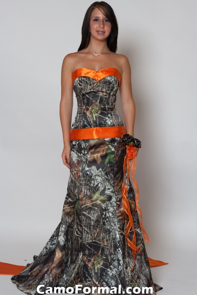 orange camo wedding dresses gown and dress gallery