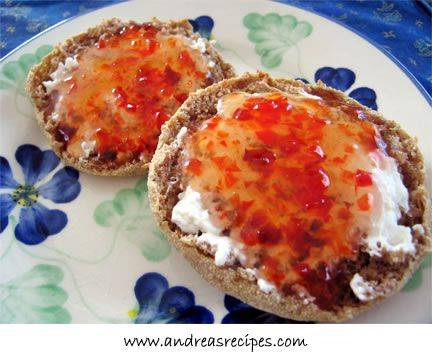 ...another..  Sweet Red Pepper Jelly!  Yummm...