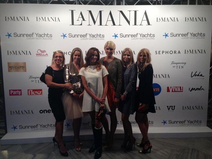 LaMania fashion show :-)