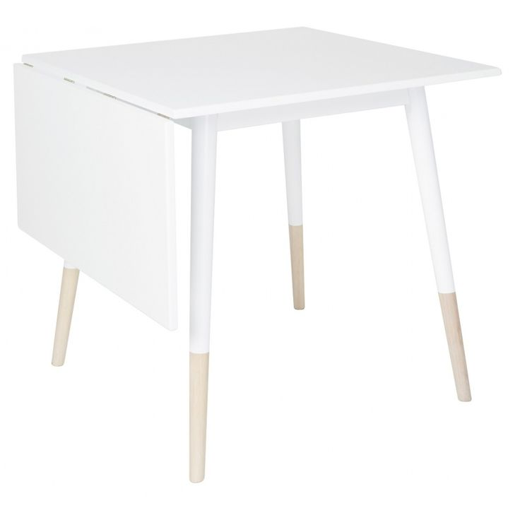 Dalsland klaffbord - Vit / Ljus ek