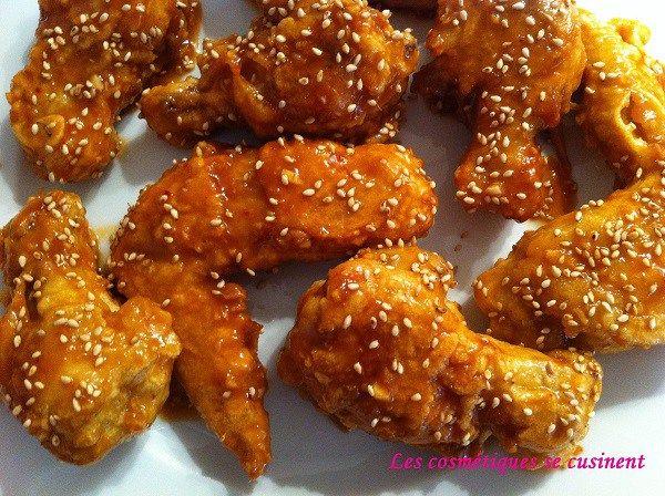 Poulet frit à la coréenne                                                                                                                                                                                 Plus