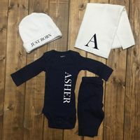 Personalized Baby Boy Coming Home Outfit, Boys Monogrammed outfit, Newborn Boy Hospital, Baby Boy Monogram Newborn, baby boy, boy shirts
