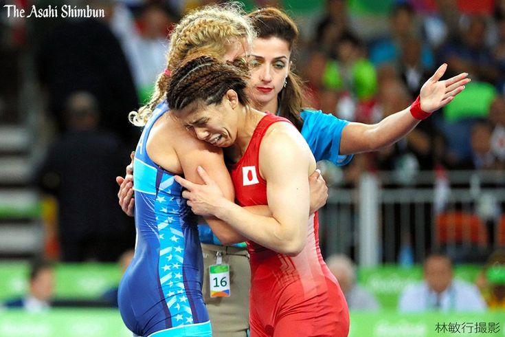 五輪4連覇は叶いませんでした。レスリング女子53キロ級決勝で吉田沙保里が敗れました。(啓)#Rio2016 #リオ五輪#レスリング#JPN #リオ五輪