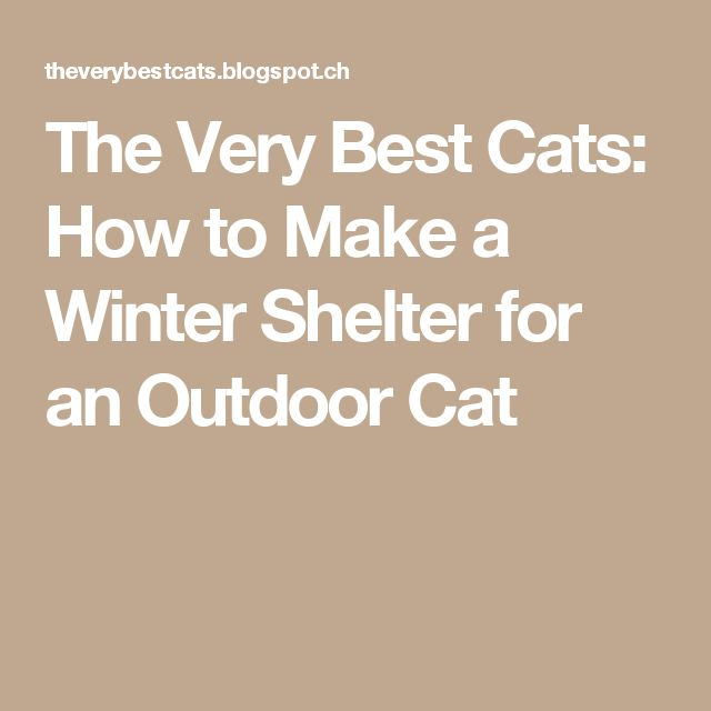 how to make an outdoor shelter