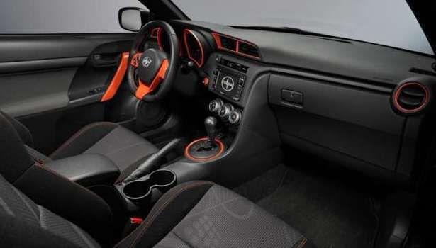 2017 Scion tC - interior