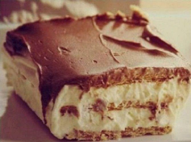Habos, csokoládés finomságra vágysz, de nincs időd sütni? Akkor próbáld ki ezt a fenséges receptet! Hozzávalók: 500 g háztartási keksz 2 tasak instant vaníliakrém (Dr.[...]