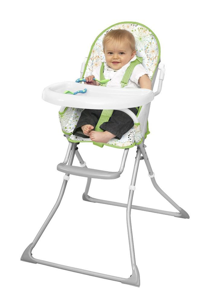 Amazing Baby High Chair Booster Seat Feeding Tray Foldable Portable Adjustable  Infant Gallery