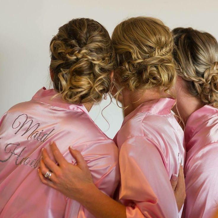 #bride #bridesmaidhair #updo #updohair