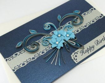 Mother's Day Card Handmade Paper Quilling Card by stoykasart