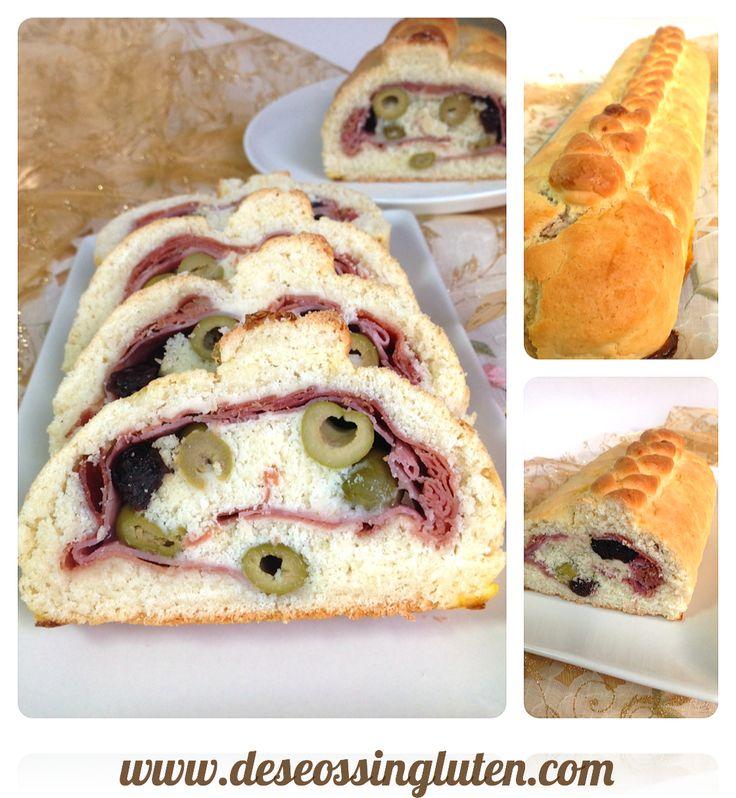 Deseos Sin Gluten: PAN DE JAMON SIN GLUTEN