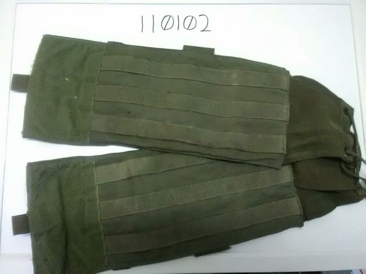 3 rows of molle webbing. Ranger Green. Large velcro patch closure. | eBay!