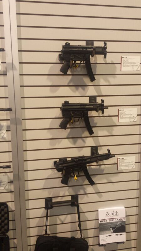 SHOT Show 2016 | New From Zenith: MP5 Concealed Carry Case and MPT-76 by Gun Carrier at http://guncarrier.com/shot-show-2016-zenith-mp5/