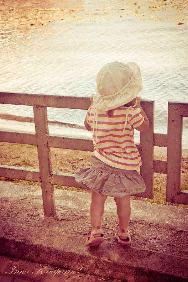 child and world