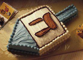#Hanukkah Dreidel Cake
