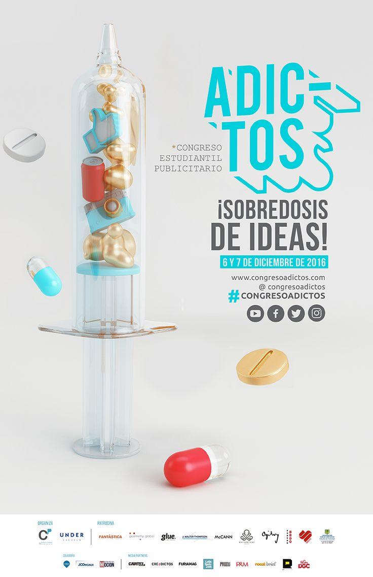 El Primer Congreso de Publicidad para Estudiantes - Adictos http://www.creadictos.com/congreso-publicidad-estudiantes-adictos/