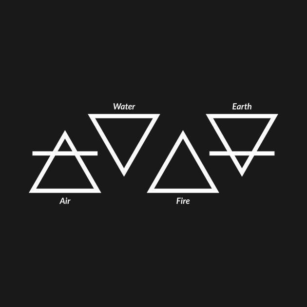Check out this awesome 'Air+Fire+Water+Earth+F… – #39AirFireWaterEarthF #awesome #Check #symbol –  – #smallt