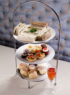 The Victoria Room Tea Salon is one of our favourite venues for High Tea, thanks to these delicious treats!