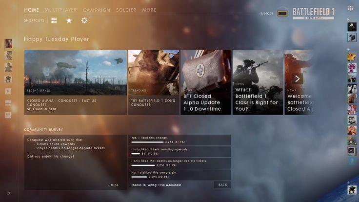 Battlefield 1 - home.