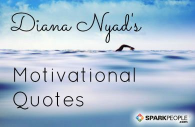 The 12 Most Inspiring Quotes from Diana Nyad via @SparkPeople