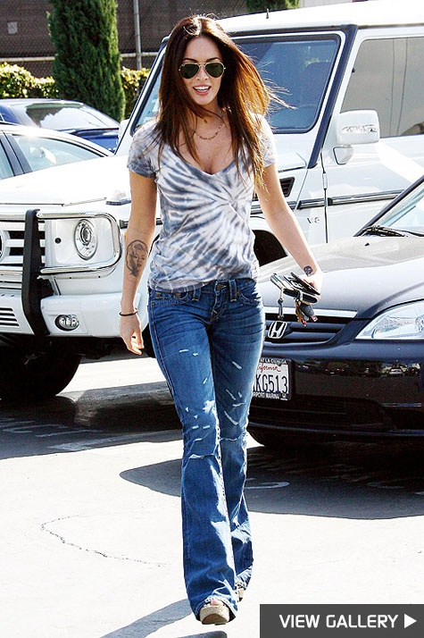 I really want to channel Megan Fox fashion style while in New York