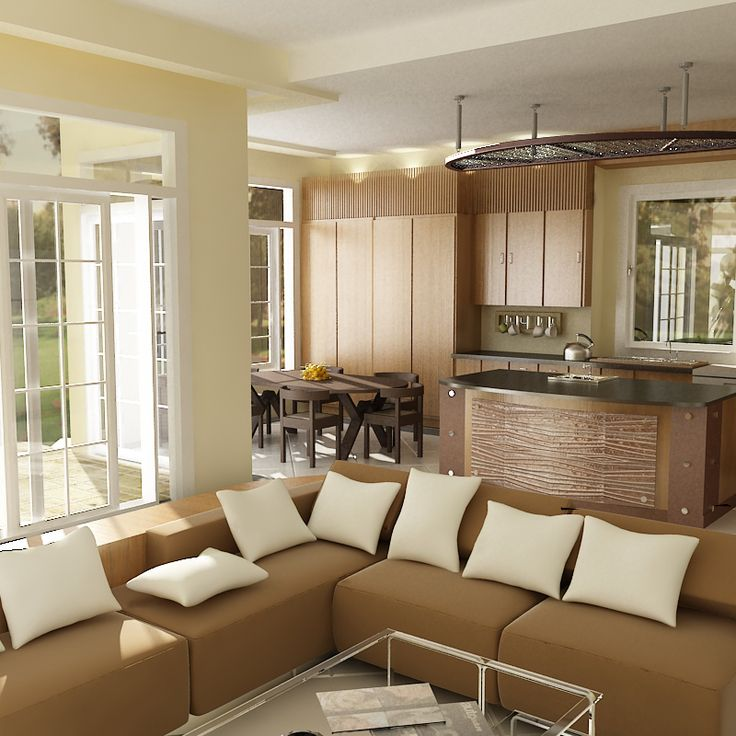 The Absolutely Innovative Home Design With White And Beige Combination Catches Attention Of All As