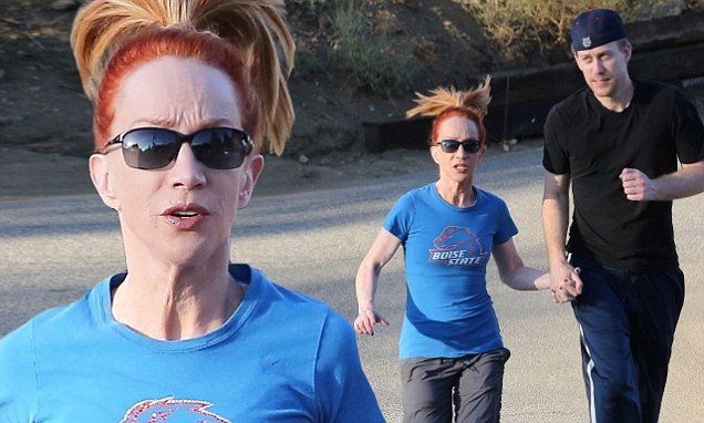 Kathy Griffin Enjoys Jog With Much Younger Beau Randy Bick -8536