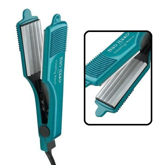 Hair Crimper Totally Bent Chrome Crimp Iron Hair Care Hairdressing Styler Tool #BedHead