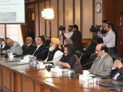 Pakistan's political leadership united over Kashmir issue