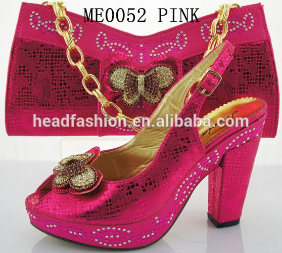 Wedding shoes and matching bag set  FOB Price: US $ 30 - 70 / Set | Get Latest Price Min.Order Quantity: 1 Set/Sets Supply Ability: 1000000 Set/Sets per Month