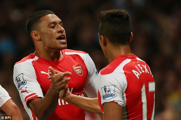 Alex Oxlade-Chamberlain scored his first goal since February to salvage a point for Arsene...
