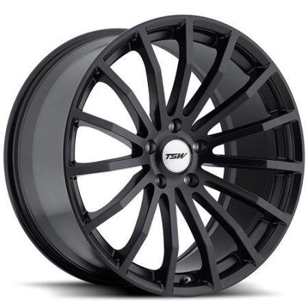 TSW Rims  (Used Mallory Matte Black Wheels)