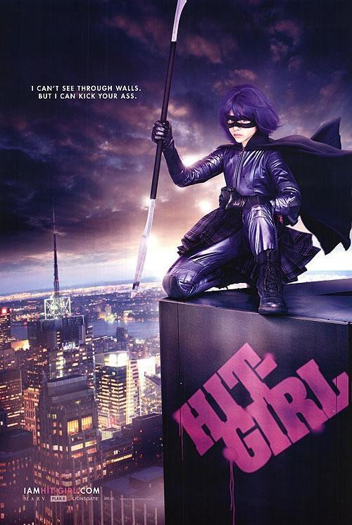 Hit-Girl Rocks!!!Movie Posters, Hit Girls, Comics Book, Girls Generation, Kicks Ass, Kickass, Chloe Moretz, Hitgirl, Favorite Movie