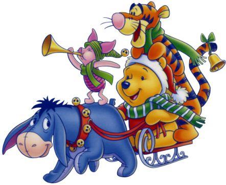 Disney Christmas   Disney Christmas Winnie The Pooh Clipart Clipartcom Pictures
