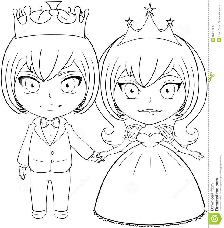 couple anime coloring pages - photo#24