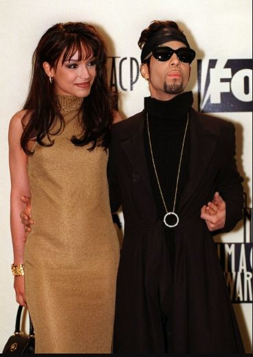 Prince and Mayte Garcia NAACP Awards 1997.