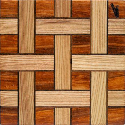 weave cutting board