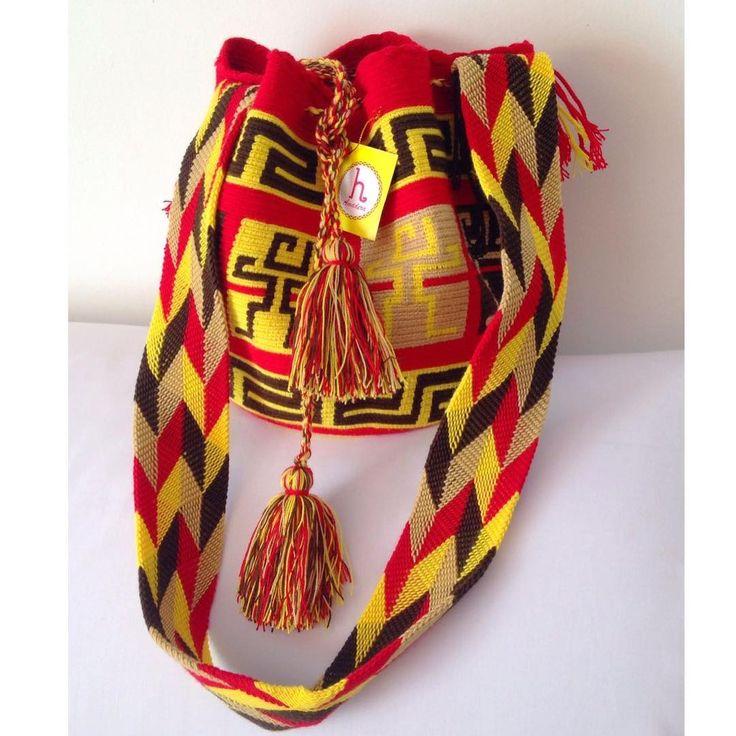 6 отметок «Нравится», 1 комментариев — Amadera's Bags (@amaderasbags) в Instagram: «New design  large size  #amaderasbags #wayuubags #wayuustyle #wayuulovers #wayuutribe…»