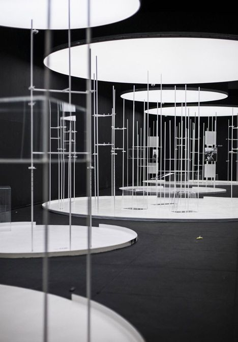 Playing with the idea of taboo, their intention was to design an anti-exhibition – a display that hides the exhibits even from the museum itself.