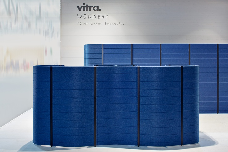 """Experience the """"Workbay Office"""", an installation by Ronan & Erwan Bouroullec for Vitra. Salone Ufficio: hall 22, stand D20 / D24. And if you can't make it to Milan, visit us on our website:   http://www.vitra.com/en-gb/magazine/details/the-workbay-office"""